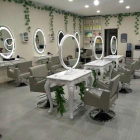 Circular mirror station