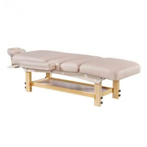 Salon Furniture Used Comfort Facial Bed Popular Wood Beauty Massage Bed For Full Body