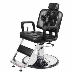 """HELIOS"" Barber Shop Chair with Heavy Duty Pump"
