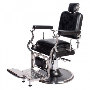 """EMPIRE"" Barber Chair in Antique Black"