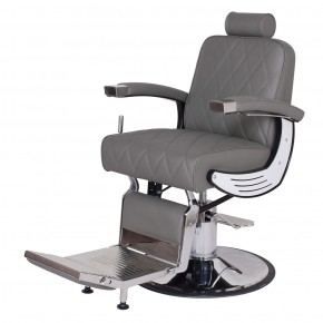 """BARON"" Heavy Duty Barber Chair in Grey"