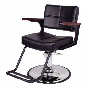 """TRIBECA"" Industrial Style Salon Chair, Modern Salon Chair, Modern Styling Chair"