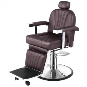 """CICERO"" Barber Chair in Soft Chocolate"