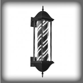 """HOLMES"" LED Barber Pole Porch Light"
