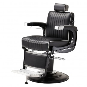 """ELITE BLACK"" Barber Chair by TAKARA BELMONT (Made in Japan)"