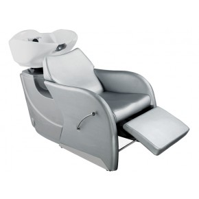 """ODESSY"" Shampoo Backwash Unit in Silver"