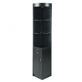 """AMBLE"" Corner Display - Black"