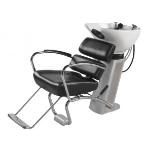"""AKITA"" Shampoo Unit with Sliding Seat"
