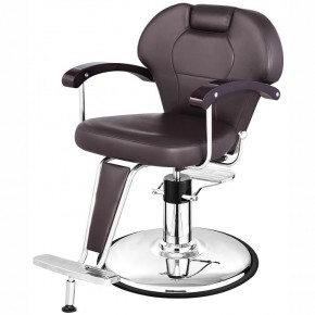 """""""KATHERINE"""" Make-Up Chair in Soft Chocolate"""
