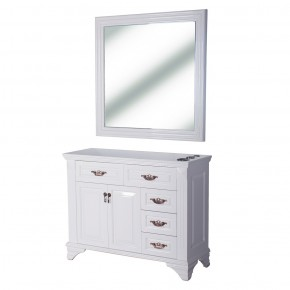 """""""FLORENCE"""" Styling Station in White"""