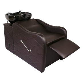 """GABRIELLE"" Shampoo Backwash Unit in Soft Chocolate"
