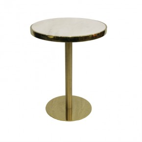 Marble stainless steel reception table bar post-modern side several coffee tables