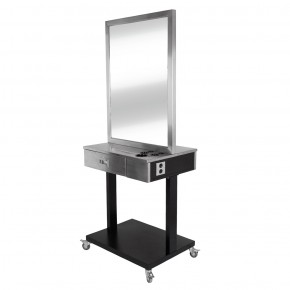 """LUMINA"" Stainless Double Sided Styling Station"