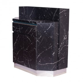 PIA reception side table marble top