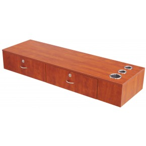 """RYAN"" Double Drawer Wall Mount Station - Free Shipping"