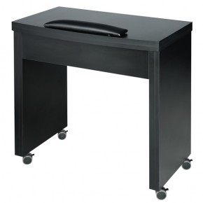 """BALLY"" Manicure Table - Black"