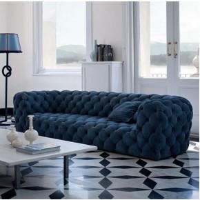 luxury living room velvet sofa chesterfield nightclub hotel lounge factory